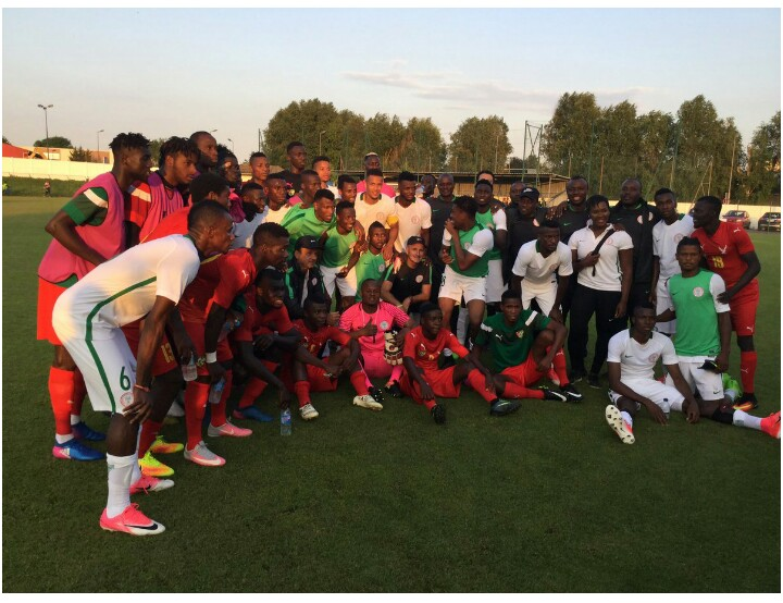 Odey, Olatubosun may feature for MFM FC in the League as Super Eagles Arrive from France Camp