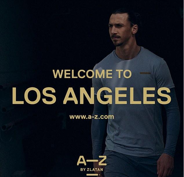 Ibrahimovic's sportswear company hints on his move to LA Galaxy