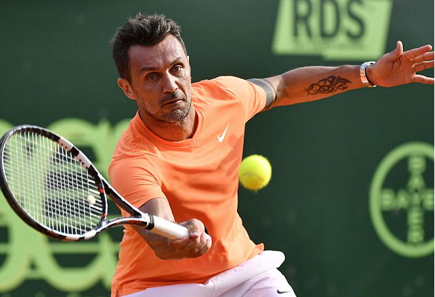 Paolo Maldini is likely to quit professional tennis after just one match