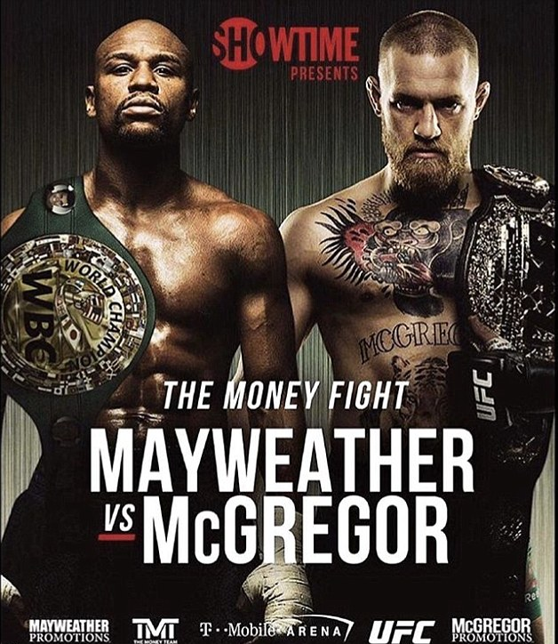 McGregor could face lawsuit if he kicks Mayweather in biggest hybrid fight of all time