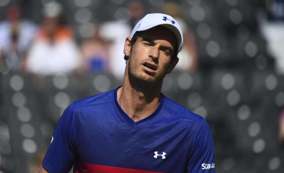 'My hip is still sore and I need to rest it,' – Andy Murray
