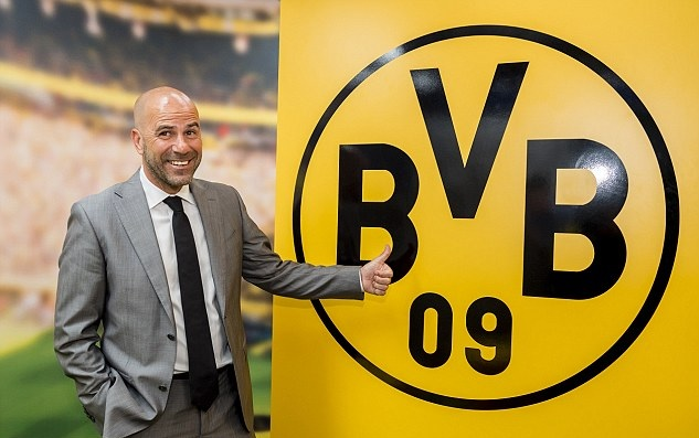 Bosz has been appointed the new boss of Dortmund