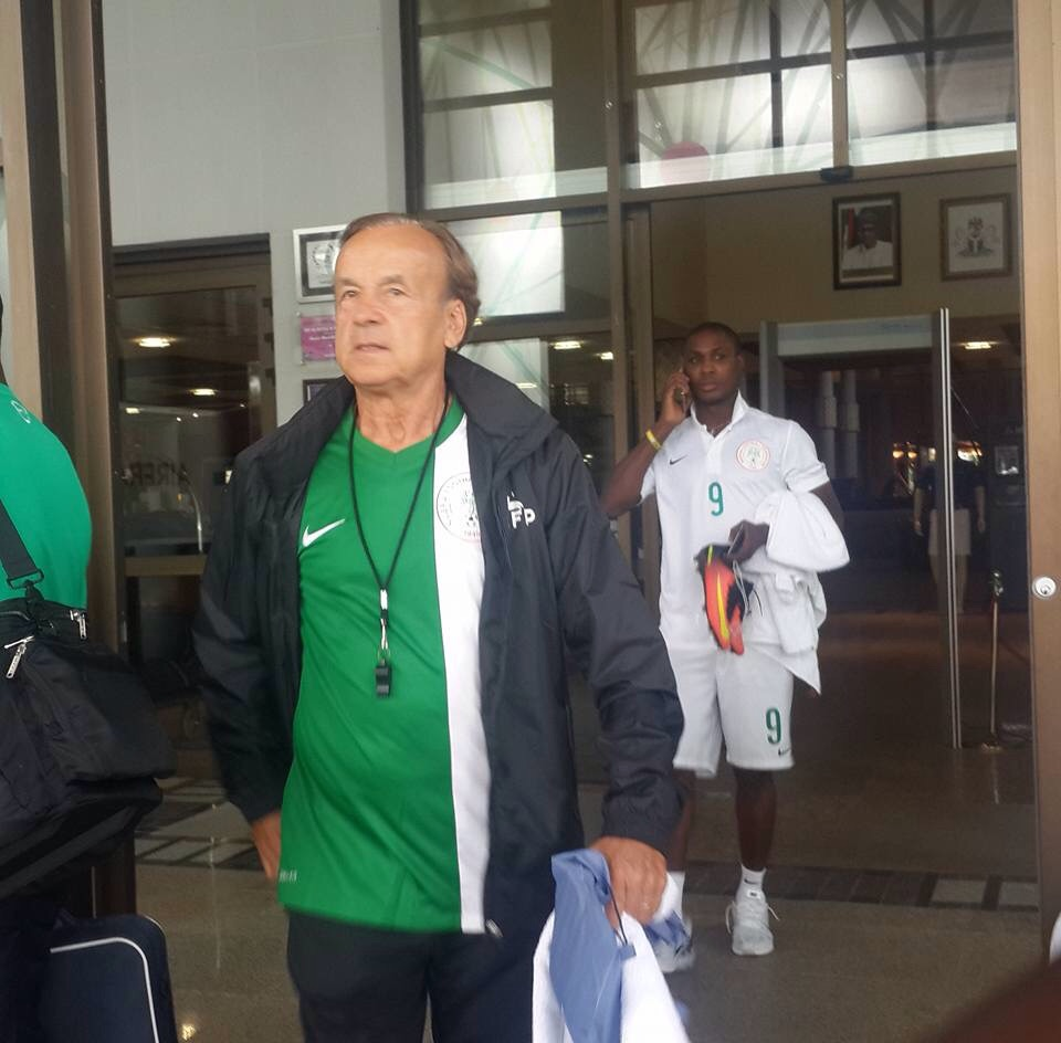 Report: Gernot Rohr prepares NPFL players for Cameroon