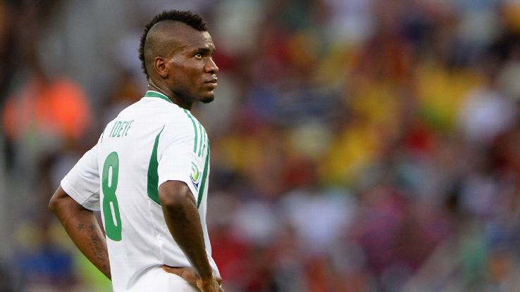 Why Stephen Keshi dropped me from Eagles' 2014 World Cup squad – Ideye Opens Up