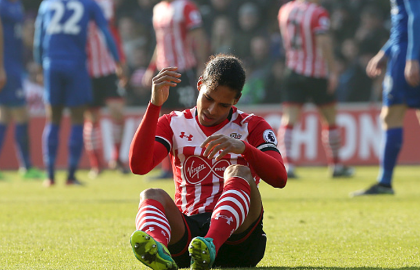 Liverpool end interest in Virgil van Dijk, apologise to Southampton