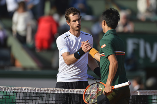 Murray repels Nishikori brilliance to make semis