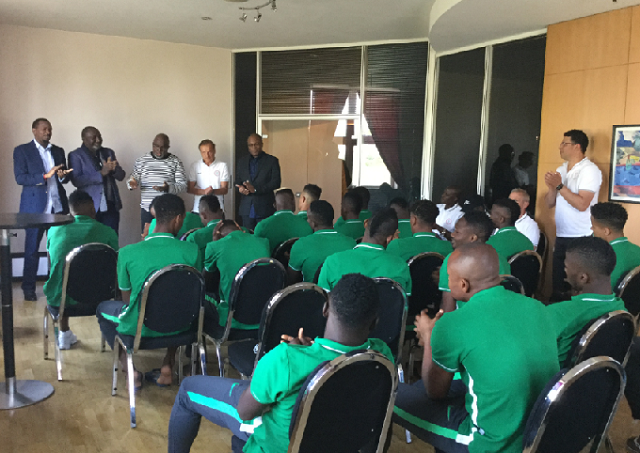 Pinnick, Dikko and Sponsors meet Eagles in Paris