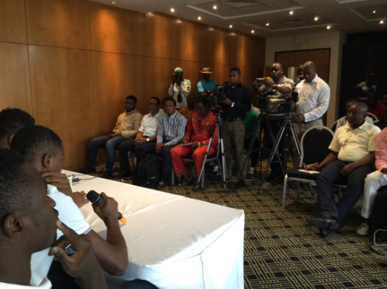 Nigeria vs South Africa Official Presser moved to 6:15pm