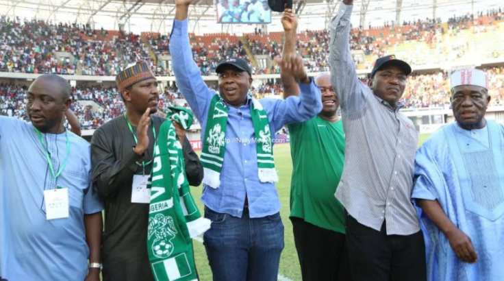 Minister Solomon Dalung Drums support for Super Eagles