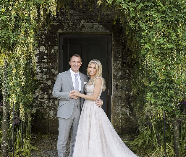 Fairy Tale Wedding for Brendan Rodgers