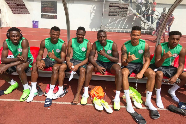What Super Eagles are Tweeting on Matchday