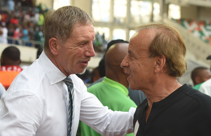 Gernot Rohr Should be Disappointed! Himself and the Players Let Us Down