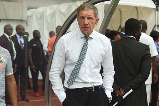We do not fear Nigeria, says Bafana Bafana Coach Baxter
