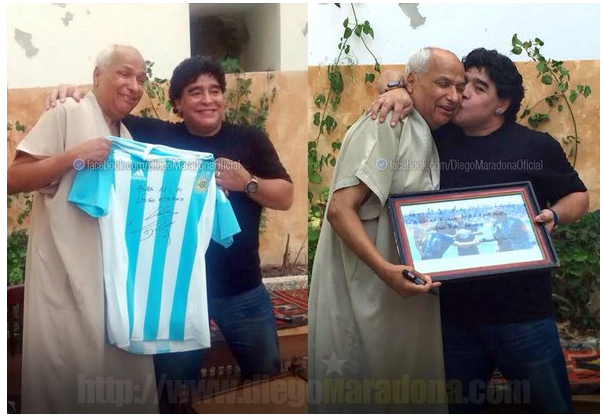 Bogdan Dochev, Diego Maradona