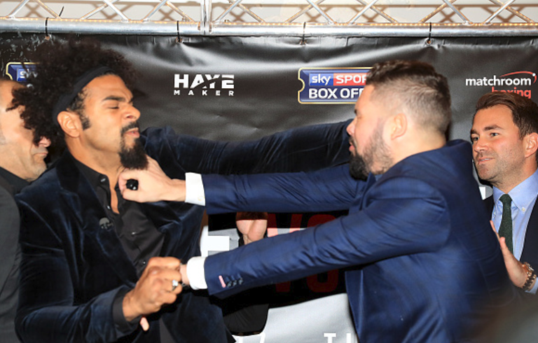 David Haye handed £25,000 fine for 'bringing boxing into disrepute' in the lead-up to Tony Bellew fight