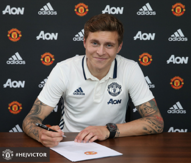 Man United Complete signing of Defender Victor Lindelöf for £30.7m