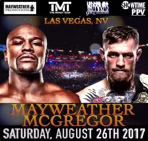 Finally! Floyd Mayweather returns against Conor McGregor in Las Vegas in August