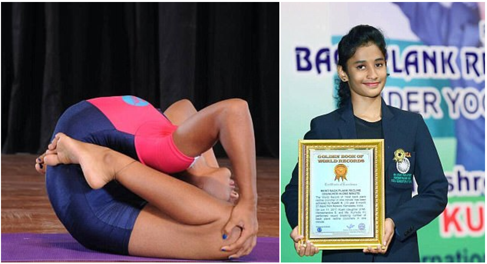 ElastiGirl Lives! 13-year-old Indian Contortionist enters Golden Book of Records