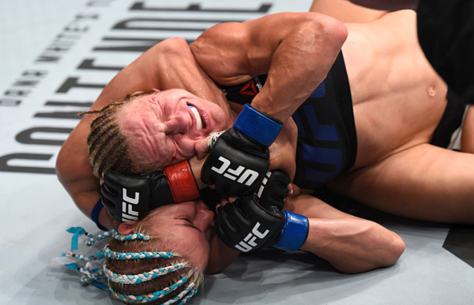 '#s***happen' UFC fighter Kish makes light of defecating while getting choked out