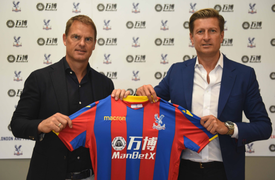 Crystal Palace Appoints Frank de Boer