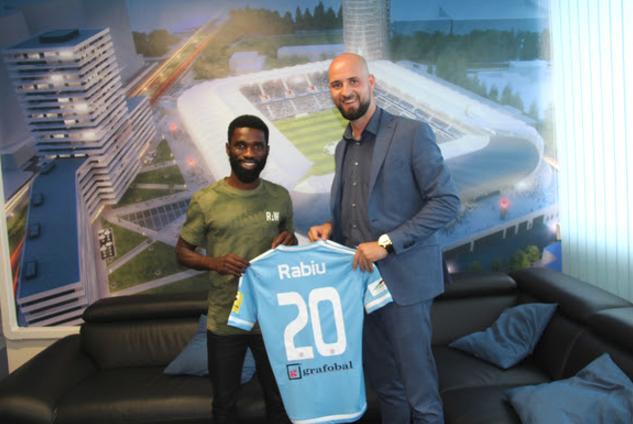 I have high ambitions! Rabiu Ibrahim joins Slovak Club for Record Fee