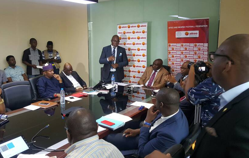 Aiteo Cup: NFF names new FA Cup Sponsor, winner (Male) gets ₦25million Prize Money