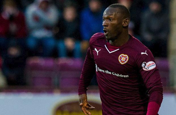 Hearts FC cut Juwon Oshaniwa Loose