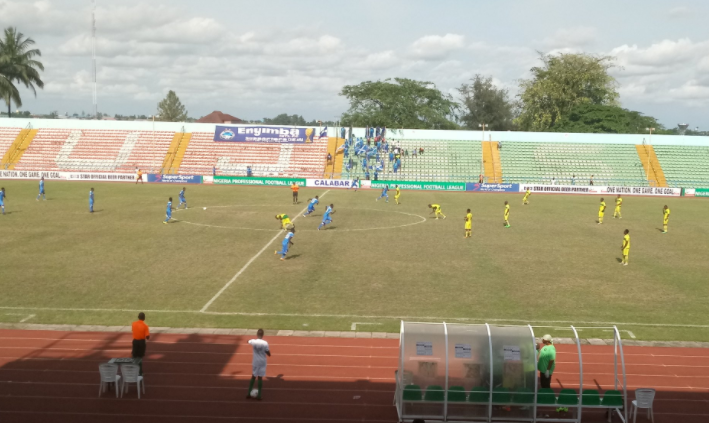 Enyimba secures their biggest League win in 4-0 Trouncing of El Kanemi