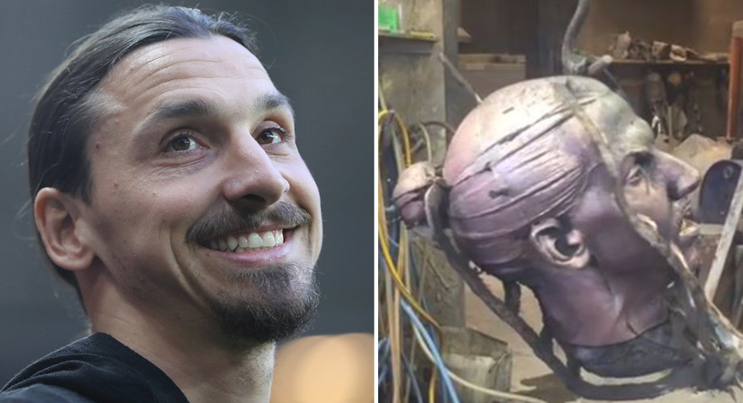 Zlatan Ibrahimovic statue update: 'Symbol of Sweden is almost done'