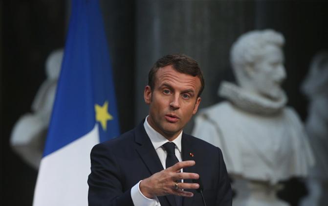 Emmanuel Macron, Paris Climate Agreement