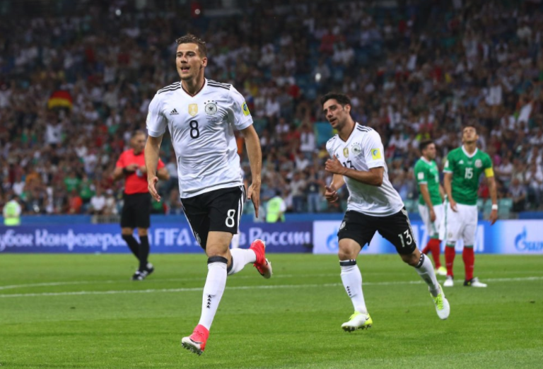 Young Germans blitz past Mexico in 4-1 Semi-final win