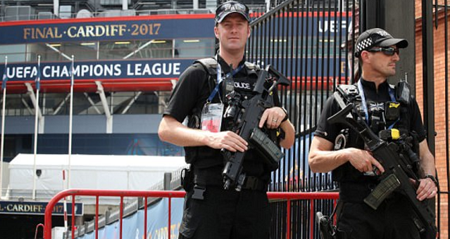 Champions League final in Cardiff gets 'biggest sporting security operation of the year'