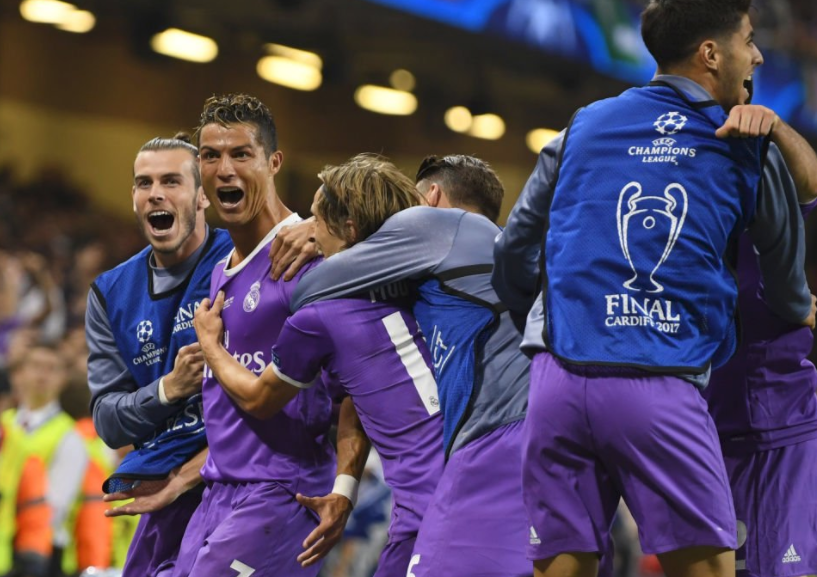 Real Madrid defeats Juventus in UEFA Champions League final