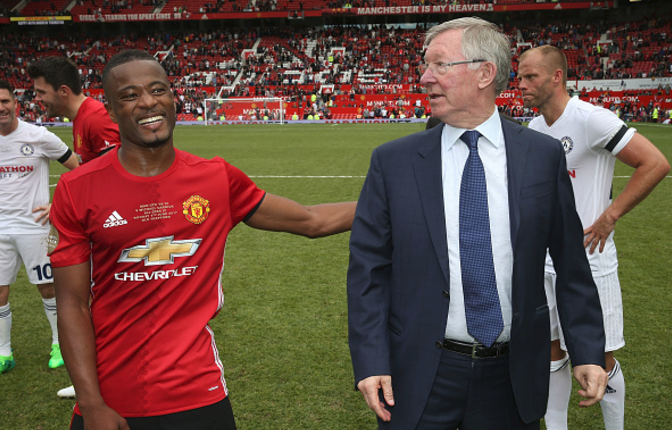 Patrice Evra has no Retirement Plans, Reveals he has Many Mouths to Feed