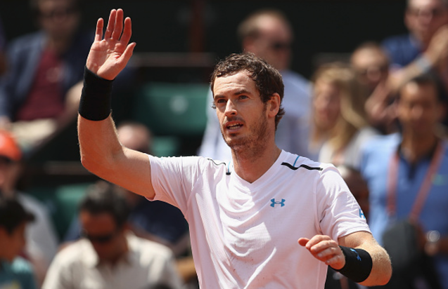French Open 2017: Andy Murray into last eight
