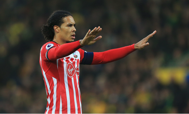 Virgil van Dijk keen on Liverpool Move