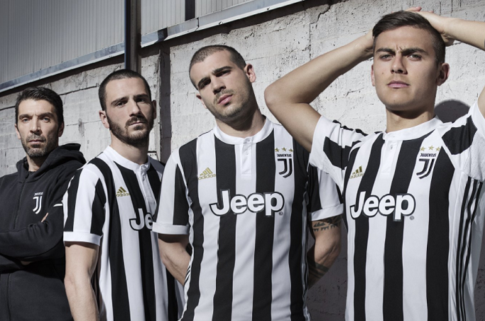 Juventus unveil home strip for 2017-18 season… and it features controversial new badge