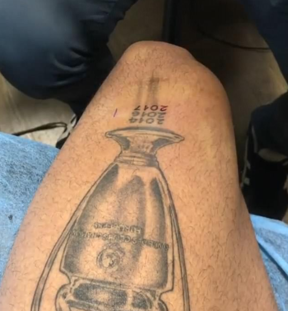 Real Madrid star Marcelo adds 2017 triumph to Champions League tattoo