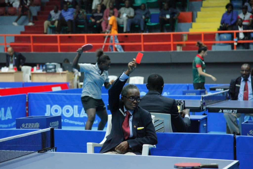 ITTF names referee team for Nigeria Open