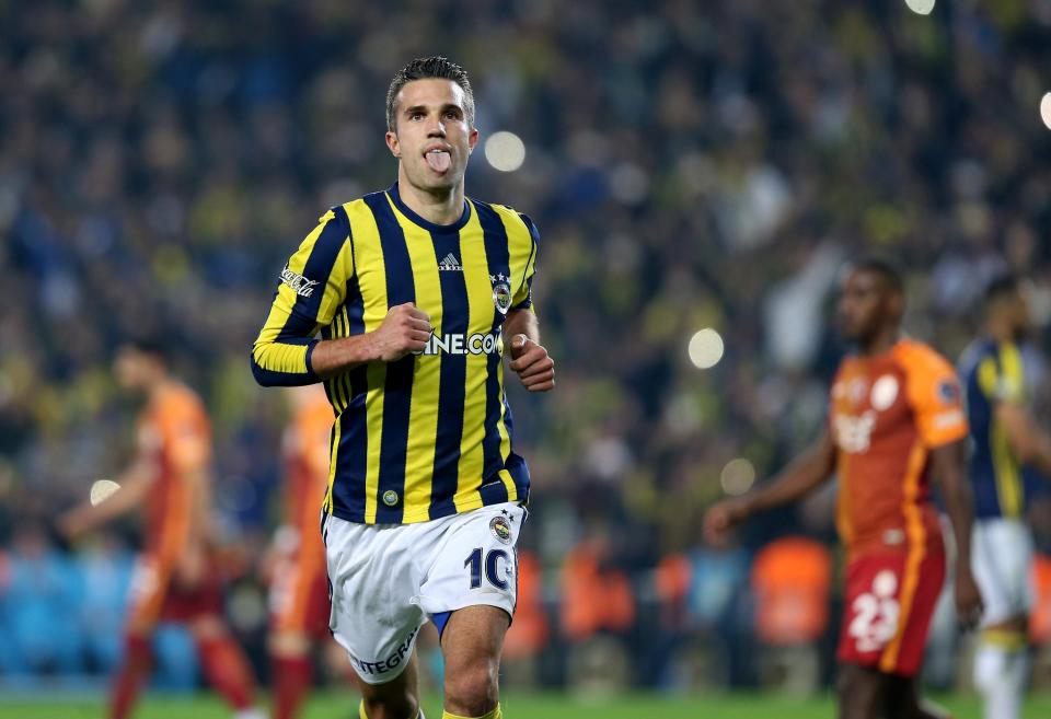 Crystal Palace boss Frank De Boer wants Van Persie