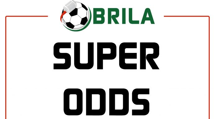 SUPER ODDS : DOUBLE CHANCE FOR SATURDAY GAMES (19/5)