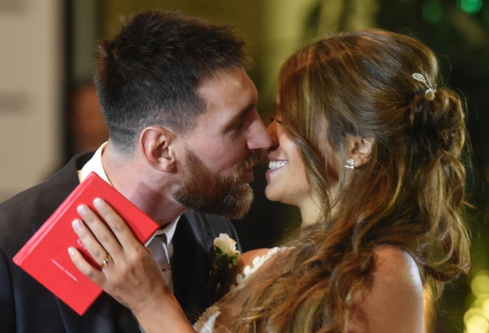 Leftovers from Messi's wedding reception donated to Charity