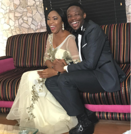 Juliet Ejue drags heart-throb Ahmed Musa to Ogoja for Traditional Wedding