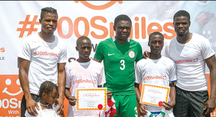 ECHIEJILE LAUNCHES 100 SMILES FOOTBALL INITIATIVE FOR INDIGENT CHILDREN