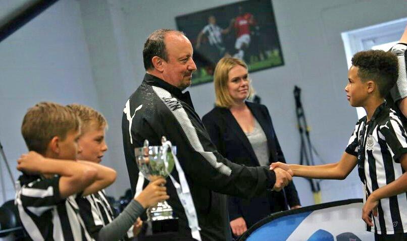 Rafa Benitez invites Babayaro's Son 'the new Messi' to Newcastle United's Academy