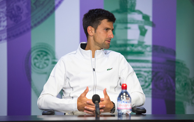 Djokovic considers break after elbow injury forced him out of Wimbledon