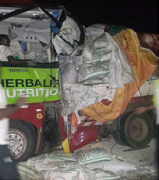 Injured Asante Kotoko players robbed at scene of Bus Crash