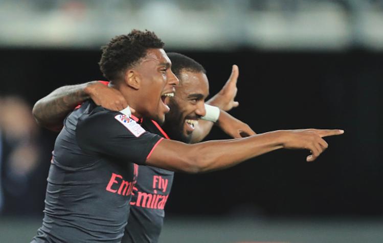 Iwobi assists Lacazette for £53m Man's debut goal