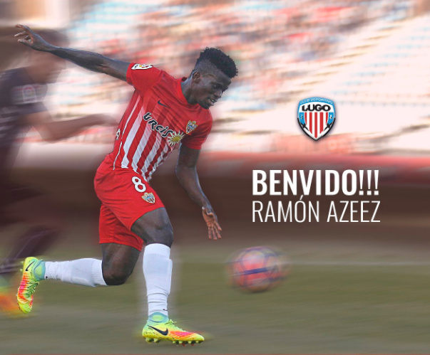 Ramon Azeez bids farewell to UD Almería as he joins CD Lugo
