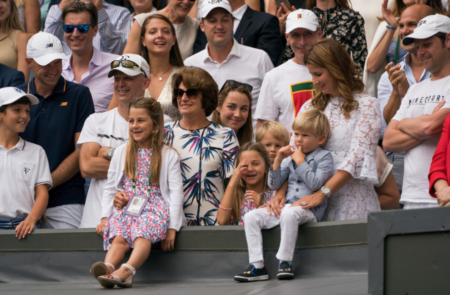 Wimbledon 2017: Roger Federer couldn't do it all without Mirka